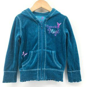 DISNEY Discover the Magic Tink Velour Zip Hoodie